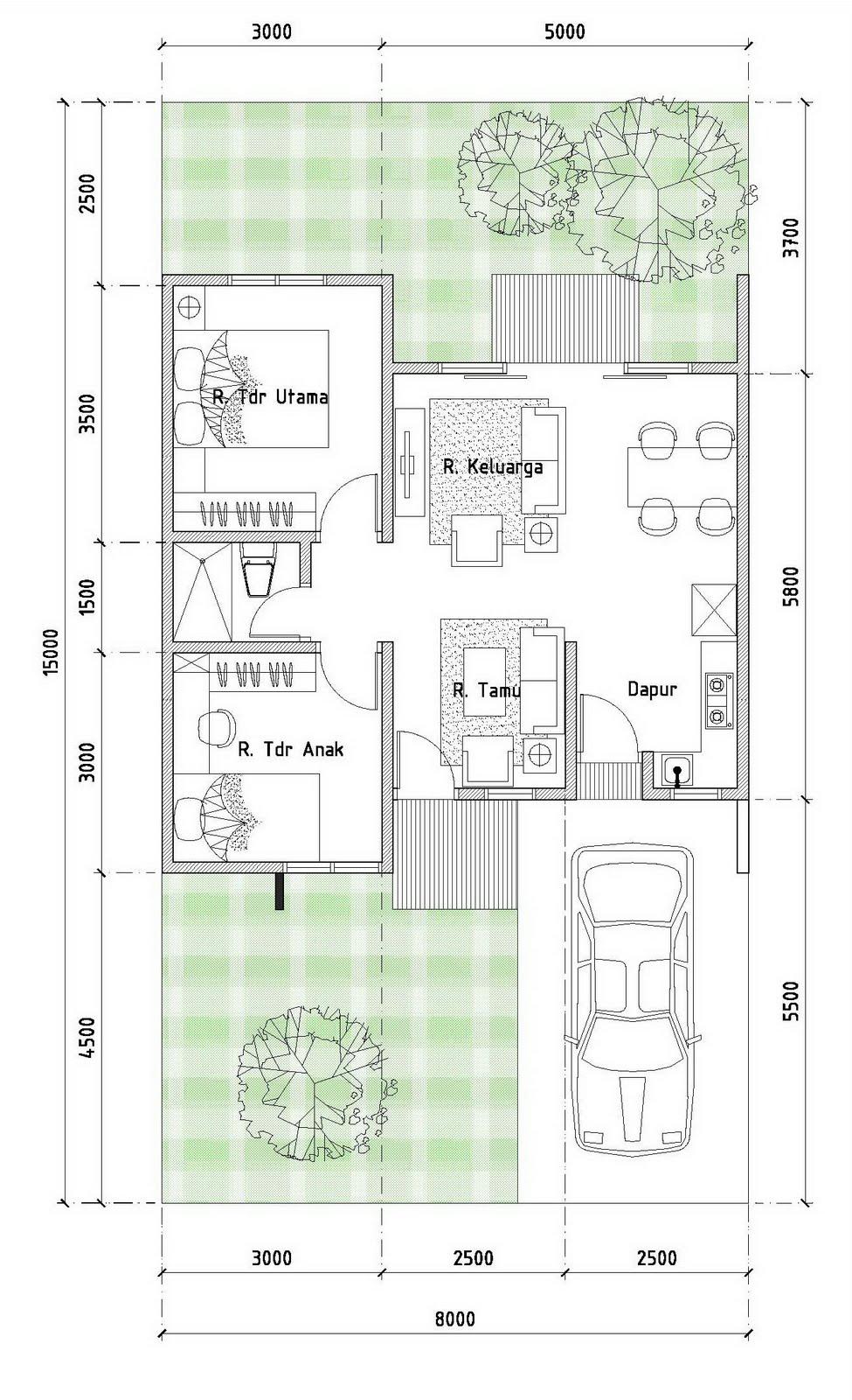 Rumah Tipe 54 Rumah Gorontalo